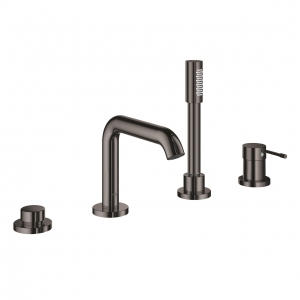 Grohe Essence New bateria wannowa 4-otw.  hard graphite 19578A01