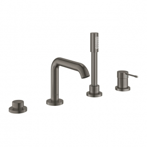 Grohe Essence New bateria wannowa 4-otw.  brushed hard graphite 19578AL1