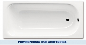 Kaldewei Saniform Plus wanna prostokątna 170x75 cm z powłoką uszlachetnioną model 373-1 1126.0001.3001