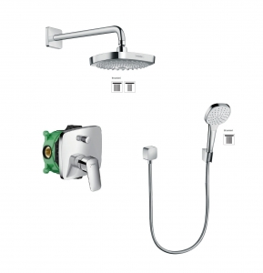 HansGrohe Logis Croma Select E komplet prysznicowy podtynkowy 5205403ED